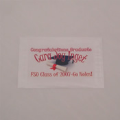 Customized glassine individual butterfly release envelope.