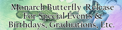butterfly release for all  occasions